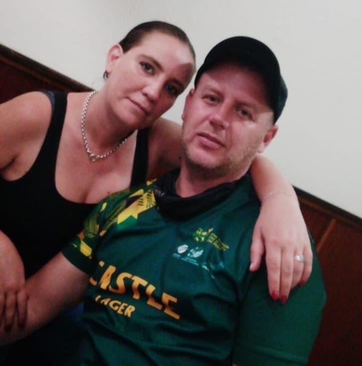 yolandi botes en haar man